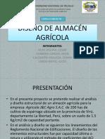 Diseño de Almacén Agrícola