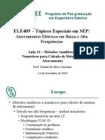 Tópicos Especiais Em SEP - Aula 13 2019-2