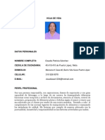 Hoja de Vida - Claudia Sanchez.docx 1