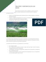 EVAPOTRANSPIRACIÓN Y EFICIENCIA  en riego- 2019.docx