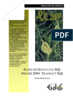 Bases De Datos Con SQL Server 2000