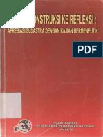 Dari Rekonstruksi ke Refleksi Apresiasi Susastra Dengan Kajian Hermeneutik.pdf