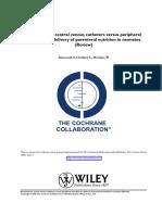 Perkutan kateter vena sentral dibandingkan perifer kanula untuk pengiriman nutrisi parenteral ada neonatus.pdf