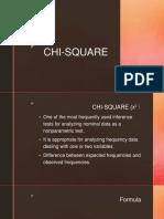 CHI-SQUARE