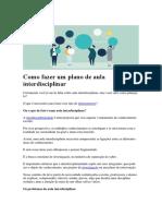 Como fazer um plano de aula interdisciplinar.docx