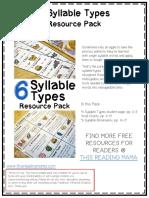 Syllabe Types