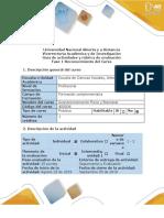Guía de actividades y rúbrica de evaluación - Fase 1 - Reconocimiento del curso..docx