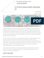 finite state machine design