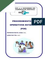 Procedimiento Operativo