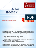 ARITMETICA –     SEMANA 01 - Rosa Ruiz V (2).pptx