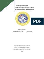 Analisis Laporan Keuangan Asuransi Syariah