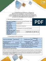 Guía de actividades y rúbrica de evaluación - Paso 2- Estado del arte, planteamiento del problema  y formulación del problema de investigación.docx