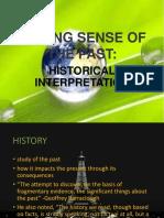 BIONG MAKING SENSE OF THE PAST -.pptx