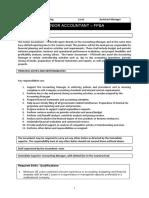 Senior Accountant (FPA)