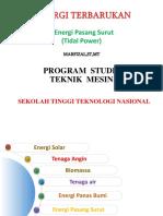 Energi Terbarukan Pertemuan 6.ppt