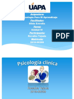 Psicologia Clinica Power Point