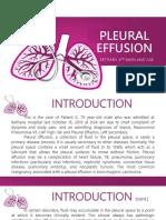 Pleural Effusion pptx