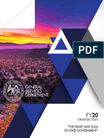 NM General Services Department FY20 Strategic Plan