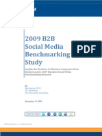 38902949 B2B Social Media Bench Marking Study