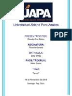 Tarea 7 - Filosofía Cristiana y Medieval - Ricardo UAPA.docx