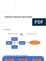 Modul 6-Strategy Analysis and Choice