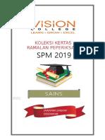 Soalan Ramalan Sains SPM 2019