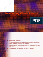 Developing Whole Person