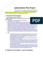 hs 390 implementation plan project