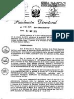 GUÍA DE REQUISITOS PARA LOS PROCEDIMIENTOS ADMINISTRATIVOS QUE SE DESARROLLAN EN LA DIVISIÓN DE ALTAS, BAJAS Y LICENCIAS DE LA DIRECCIÓN DE RECURSOS HUMANOS DE LA POLICÍA NACIONAL DEL PERÚ..pdf