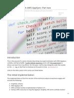 Medium.com-GraphQL APIs With AWS AppSync Part Two