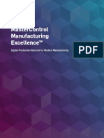 Mastercontrol Manufacturing Excellence