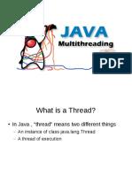 Java multi-threading