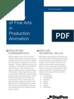 BFA in Digital Art and Animation