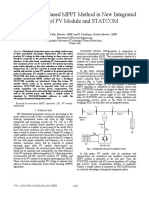 Using current-based MPPT method in new integrated system of PV module and STATCOM