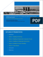 2 Numerical Analyses of Soft Soil Foundations Improved by PVDs and Vacuum Preloading