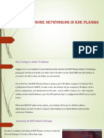 How to Configure Networking in KDE Plasma
