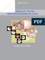 Arthroscopy of the Temporomandibular Joint