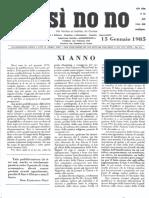 Anno XI N°1