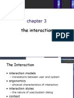 chapter 3 - Interaction