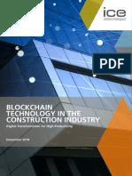 Blockchain Technology in Construction