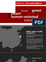CRRC Urban Traffic Profile