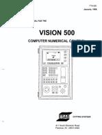 Esab Vision 500 Manual