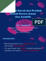 Transfusi Yang Aman