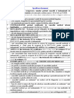 Documente Necesare Si Justificative