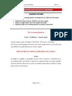 L1 Accounting Equation