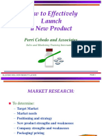How to Effectively Launch a new product.ppt