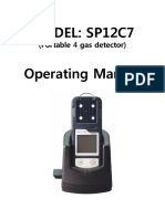 Multi Gas Tester Manual SP12