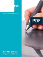 Ewan McKendrick - Contract Law-Palgrave (2017)
