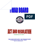 TWAD Board Act and Regulations