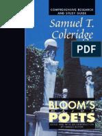 Samuel Taylor Coleridge Blooms Major Poets